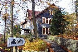 Eingangsansicht Haus Lydiaheim - Sitz der MAV