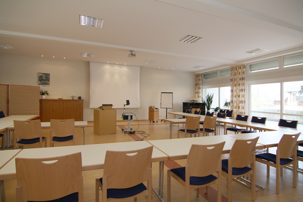 Frieda-v. Bodelschwingh-Saal | Seminar-Bestuhlung